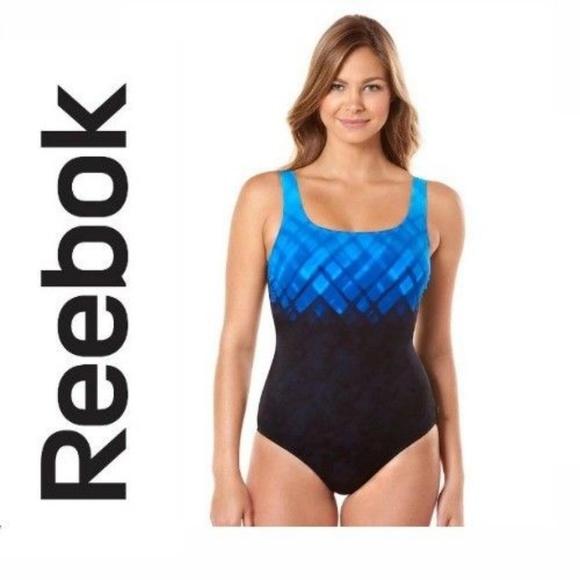 99e6b83536 Reebok Swim   Ladies One Piece Suit Uback   Poshmark